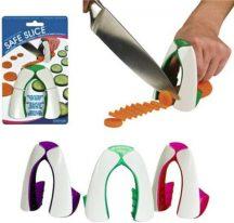 Biztonságos konyhai szeletelősegéd - Megvédi kezed szeleteléskor!