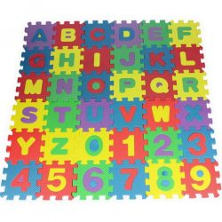 Brain-Toy Habszivacs kirakós szőnyeg Gyerekeknek