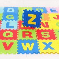 Óriás Brain-Toy Habszivacs kirakós szőnyeg Gyerekeknek