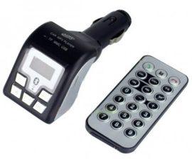 Bluetooth FM transzmitter - Távirányítóval!