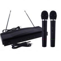 Vezeték nélküli Karaoke szett - 2 mikrofonnal egy szettben!