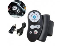 Kormányra szerelhető bluetooth kihangosító - Kényelmes és biztonságos megoldás vezetés közben!