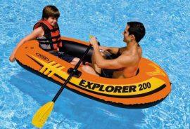 Intex Explorer 200 Gumicsónak Outlet áron a főszezonban - 25.990 forint helyett 12.990 forintért!