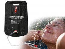 KEMPINGZUHANY, 20 LITERES - 3-4 zuhanyzásra elegendő!