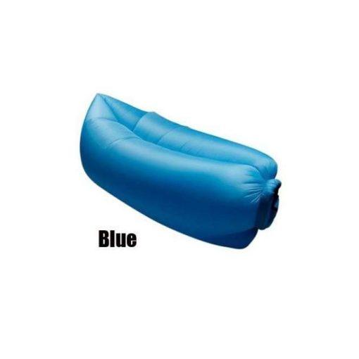 LayBad felfújható matrac Kék