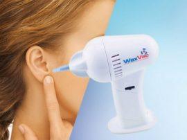 WaxVac elektromos fültisztító készülék - Kíméletes és fájdalommentes!
