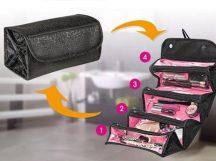 Roll-N-Go Kozmetikai táska - Praktikus, sok rekesszel!
