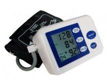 Automata vérnyomás és pulzusmérő - Segít megelőzni a problémát és kontroll alatt tartani a betegséget!