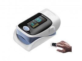 Véroxigén/Pulzusmérő LCD kijelzővel - Kicsi és könnyű, Otthonra és út közben!