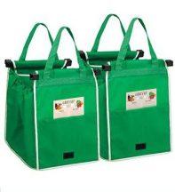2db Grab and Bag bevásárlótáska tartalék huzattal - A modern háziasszonyok csodafegyvere!