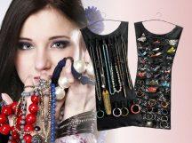 Ékszertartó ruha Fekete