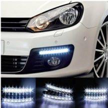 8 LED-es Nappali Menetfény - Légy mindig jól látható, kerüld el a baleseteket!