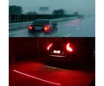 Lézeres ködlámpa - Figyelmeztető lámpa köd esetén!