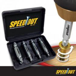 Speed Out sérült csavar eltávolító készlet - Egy háztartásból sem hiányozhat!