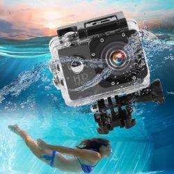 VÍZÁLLÓ FULL HD AKCIÓ KAMERA RENGETEG KIEGÉSZÍTŐVEL - Örökíts meg mindent a víz alatt is!