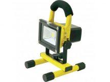 AKKUMULÁTOROS LED REFLEKTOR 10W-os - Hordozható, nagy fényerejű!
