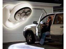 Falra szerelhető Mozgásérzékelős LED lámpa - 360 fokban forgatható fejjel!