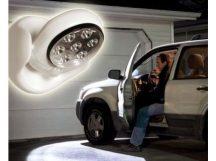 Light Angel falra szerelhető Mozgásérzékelős LED lámpa - 360 fokban forgatható fejjel!
