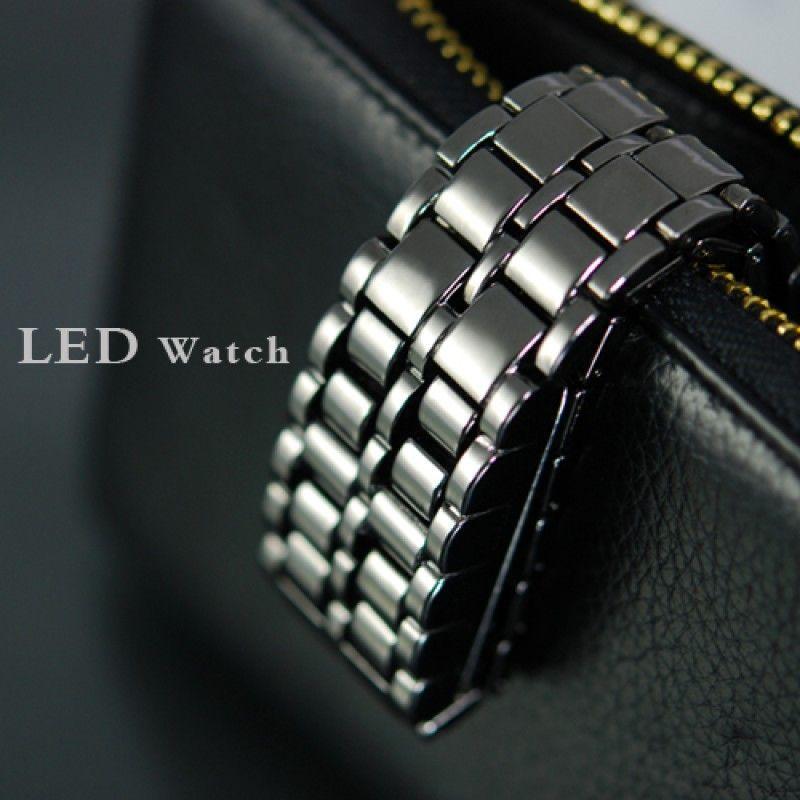 Iron Samurai LED Karóra szürke színben Modern és divatos