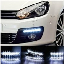 6 LED-es Nappali Menetfény - Kerüld el a baleseteket, legyél mindig jól látható!