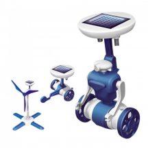 Solar Robot 3 in 1 napelemes játékrobot - Gyermeked kedvence!