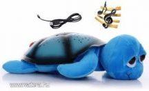 Bociszemű teknős éjjeli fény kék
