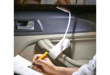 Csíptethető LED olvasólámpa - Autóba, vagy íróasztalra!