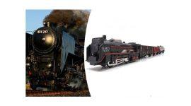 Rail King Elektromos kisvasút - Minden gyermek álma!