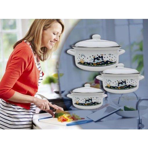 Tidal 6 részes edényszett - Minden főzőfelületre!