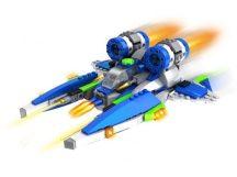 Űrrepülő építőkocka - 304 darabos csomag!