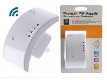 WiFi Jelerősítő, WiFi Repeater - Konnektorba helyezve felerősíti a WiFi térerejét!