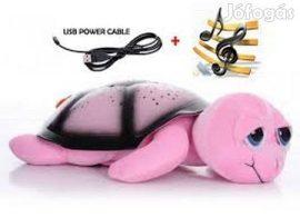 Bociszemű teknős éjjeli fény pink