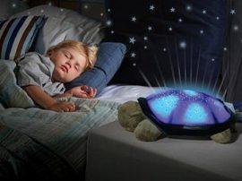 Viágítós LED-es plüssteknős - A gyermekek kedvence!