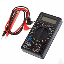 Digitális multiméter feszültségmérő - Könnyen leolvasható kijelzővel!