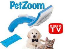 PetZoom szőrkefe - Kutyák, macskák részére fejlesztve!