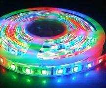 5m RGB LED szett szalag 2835