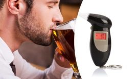 Kézi digitális Alkohol szonda - Azonnal analizál és eredményt mutat!