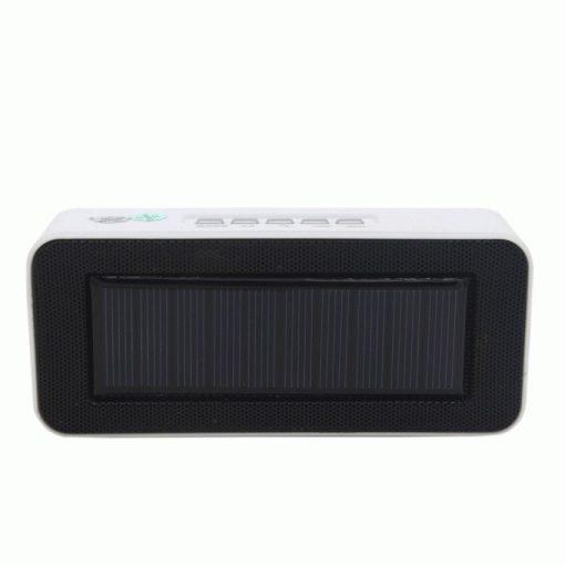 Napelemes Bluetooth hangszóró fehér