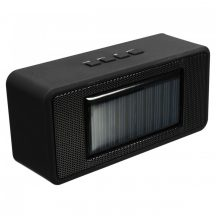 Napelemes Bluetooth hangszóró fekete