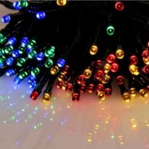 100 LED-es elemes karácsonyi izzósor - Multicolor Színben!