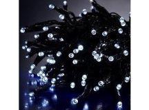 100 LED-es elemes karácsonyi izzósor - Hidegfehér Színben!