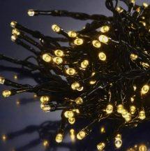 100 LED-es elemes karácsonyi izzósor - Melegfehér Színben!