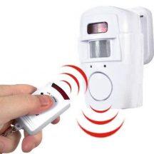 Vezeték nélküli mozgásérzékelős riasztó távirányítóval - A biztonság mindenek előtt!