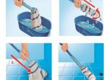 SELF MOP ÖNFACSARÓ FELMOSÓ - Nem lesz szükséged egyedi vödörhöz, mert önmaga facsarja ki a vizet!