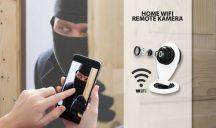 Új generációs SLIM Wifi IP kamera - Telefonodról is nézheted vagy SD kártyára rögzíthetsz!