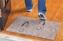 Clean Step Mat mikroszálas csodalábtörlő - Minden koszt megfog!