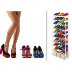 30 Férőhelyes Cipőtároló Állvány - Tartsd cipőidet rendezetten!