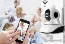 Forgatható biztonsági WIFI IP kamera - Legyenek biztonságban értékeid!