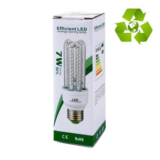 7W LED izzó U E14 HF