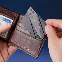 Bankkártya alakú Kés - Mindig kéznél lesz!
